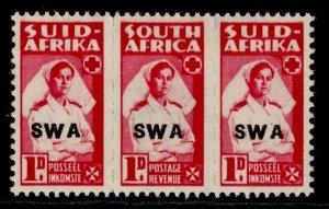 SOUTH WEST AFRICA GVI SG124a, 1d bright carmine, M MINT.