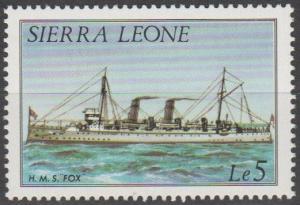 Sierra Leone #651  MNH F-VF CV $16.00 (SU1355)