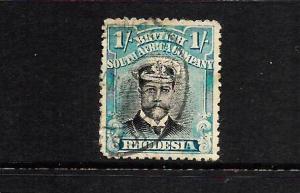 RHODESIA  1913-22   1/-  KGV   FU   SG 232