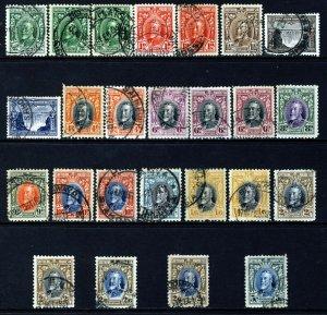 SOUTHERN RHODESIA KG V 1931-37 Complete Definitive Set SG 15 to SG 27 VFU