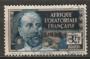 French Equatorial Africa 1940 Sc 119 used