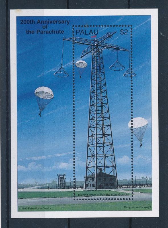 [56662] Palau 1997 History parachute MNH Sheet