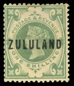 Zululand Scott 1-10 Gibbons 1-10 Mint Set of Stamps