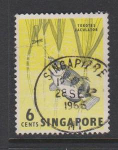 Singapore Sc#56 Used