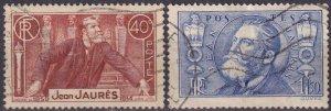 France #313-4  F-VF Used CV $5.15 (Z2551)