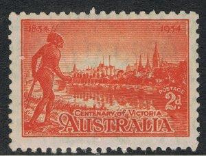 AUSTRALIA 1934 2d CENTENARY OF VICTORIA