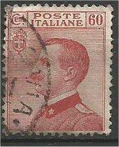 ITALY, 1916, used 60c, Victor Emmanuel III Scott 107
