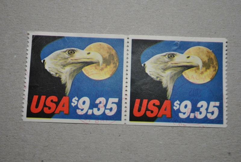 2 US 1909 1983 $9.35 Eagle and Moon Express Mail, Used