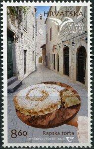Croatia 2020. Traditional Gastronomy (MNH OG) Stamp
