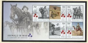 Australia   mnh souvenir sheet  s.c.#  4378a