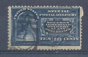 US #E4 10c 1894 issue  right corner repaired (U) CV $10.00