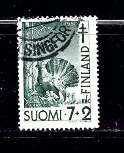 Finland B107 Used 1951 issue