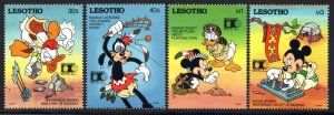 Lesotho - 1992 World Columbian Stamp Expo Set & MS MNH** SG 1094-1098