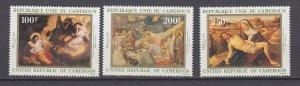 J29714, 1982 cameroun set mnh #701-3 art