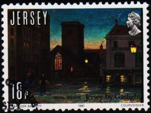 Jersey. 1981 18p S.G.281 Fine Used