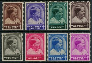 Belgium #B180-7* CV $9.75 semi-postal stamp complete set