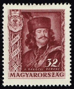 HUNGARY STAMP 1935 The 200th Anniversary of the Death of Prince MH/OG 32F