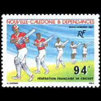 NEW CALEDONIA 1987 - Scott# C213 Cricket Fed. Set of 1 NH