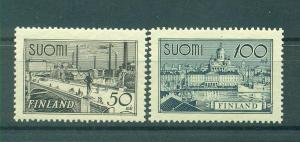 Finland sc# 239-240 mlh cat value $7.00