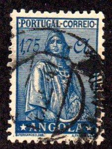 ANGOLA 258A USED SCV $5.25 BIN $2.10 PERSON