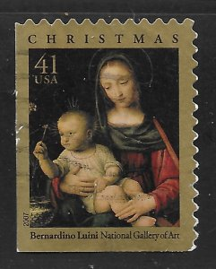 US #4206 41c Christmas - Madonna of the Carnation