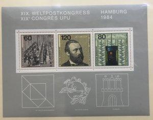 Germany 1420 MNH Souvenir Sheet