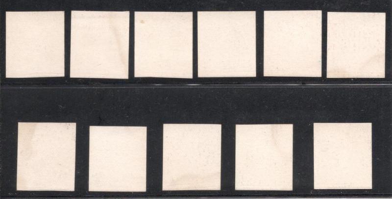 #219P4/229P4 Plate Proofs on Card - Mint, N.H. w/Original Envelope