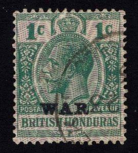 British Honduras Scott MR1 Used.