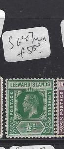LEEWARD ISLANDS (P1710B) KGV   1/2D  SG 47  MOG