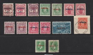 Samoa a small lot of earlies M &/or used