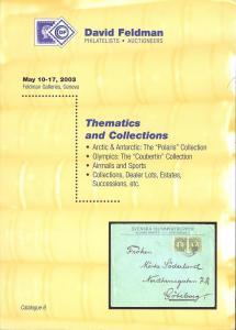Feldman:    Thematics and Collections, David Feldman May ...