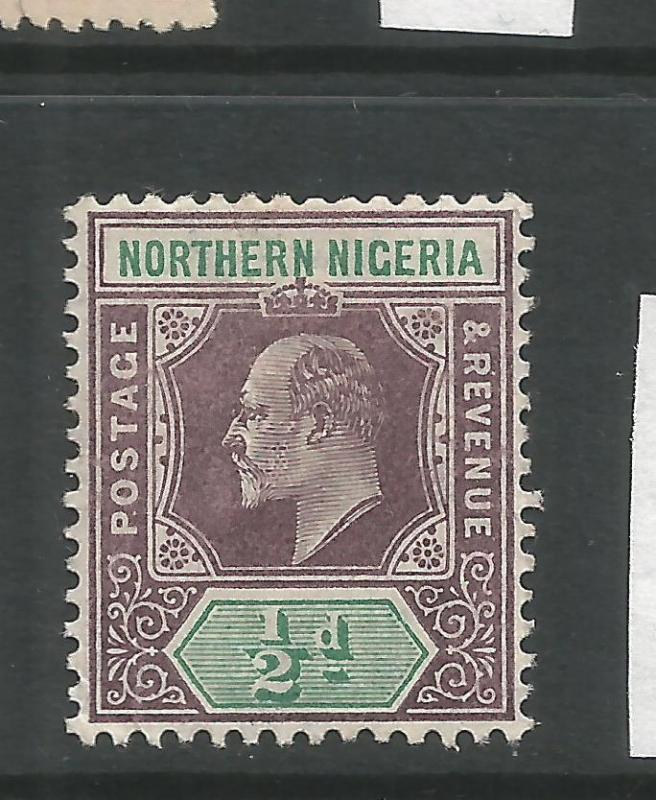 NORTHERN NIGERIA  1905   1/2d  KEVII   MH     SG 20a