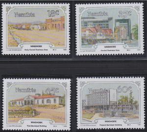 Namibia 666-669 MNH (1990)
