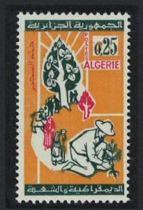 Algeria Reafforestation Campaign 1v SG#440