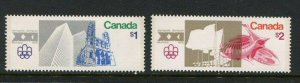 Canada #687-8 MNH