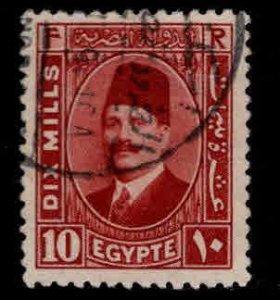 Egypt Scott 136 Used stamp