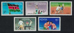 Kenya Olympic Games Barcelona 1992 1st issue 5v SG#556-560
