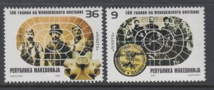 Macedonia 272-273 MNH VF