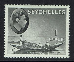 Seychelles SG# 146a - Chalk Paper - Mint Hinged (Small Hinge Rem) - 090515