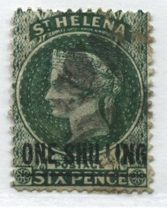 St. Helena QV 1894 1/ on 6d used