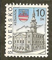 Slovakia     Scott  401   Church  Used