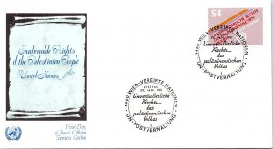 United Nations Vienna, Worldwide First Day Cover