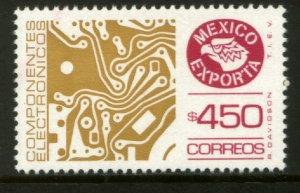MEXICO Exporta 1585, $450P CIRCUIT BOARD, Fosfo Paper 12. MINT, NH. VF.
