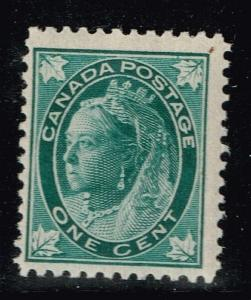 Canada SC# 67, Mint Lightly Hinged, Tiny Ink Specks on Back.       Lot 06212015