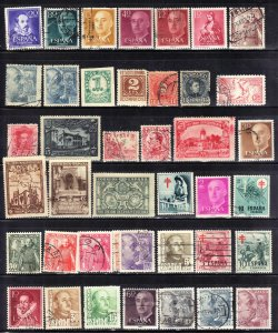 SPAIN  USED STAMP LOT #5     SEE SCAN