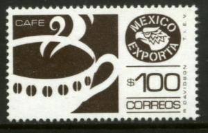 MEXICO Exporta 1470A $100P Coffee Fosfo Paper 10 MINT, NH. VF.