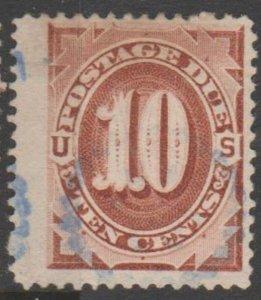 U.S. Scott #J19 JUMBO - Postage Due Stamp - Used Single - IND
