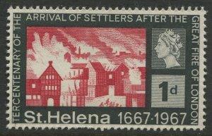 STAMP STATION PERTH St Helena #197 Tercentenary of Settlers 1967 MNH