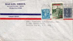Cuba 1c Child and Cross of Lorraine and 1c Proposed Communications Building P...