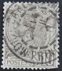 DYNAMITE Stamps: Monaco Scott #15 – USED